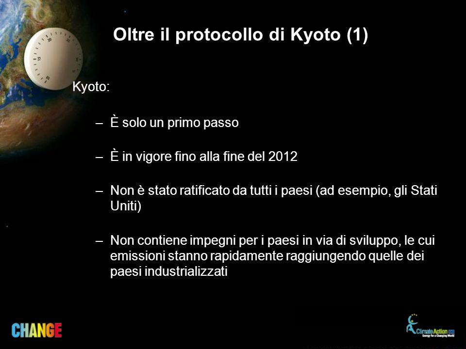 Oltre il protocollo di Kyoto (1)