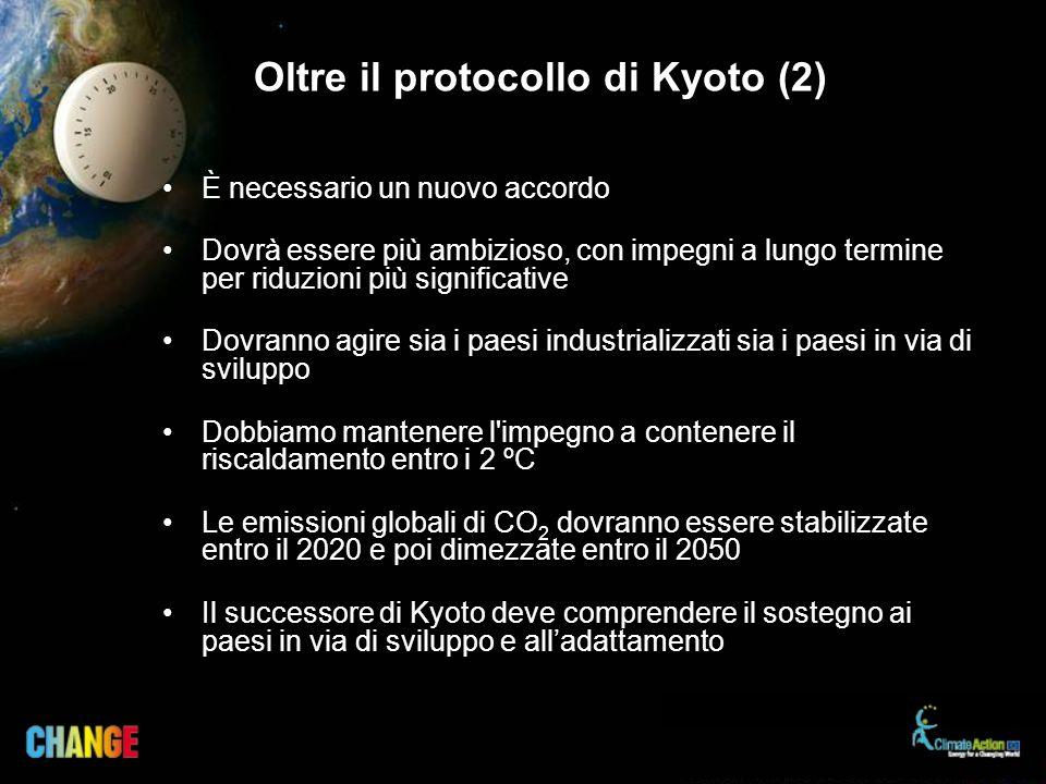 Oltre il protocollo di Kyoto (2)