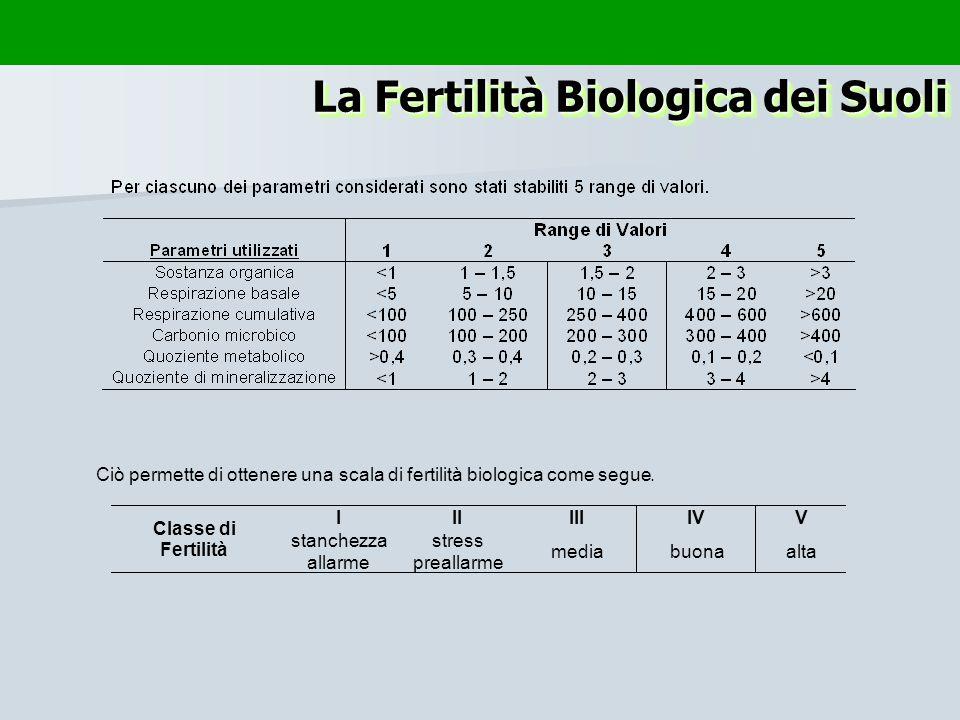 La Fertilità Biologica dei Suoli