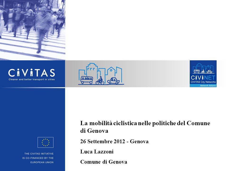 La mobilità ciclistica nelle politiche del Comune di Genova