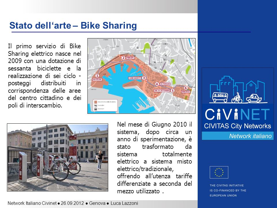 Stato dell'arte – Bike Sharing