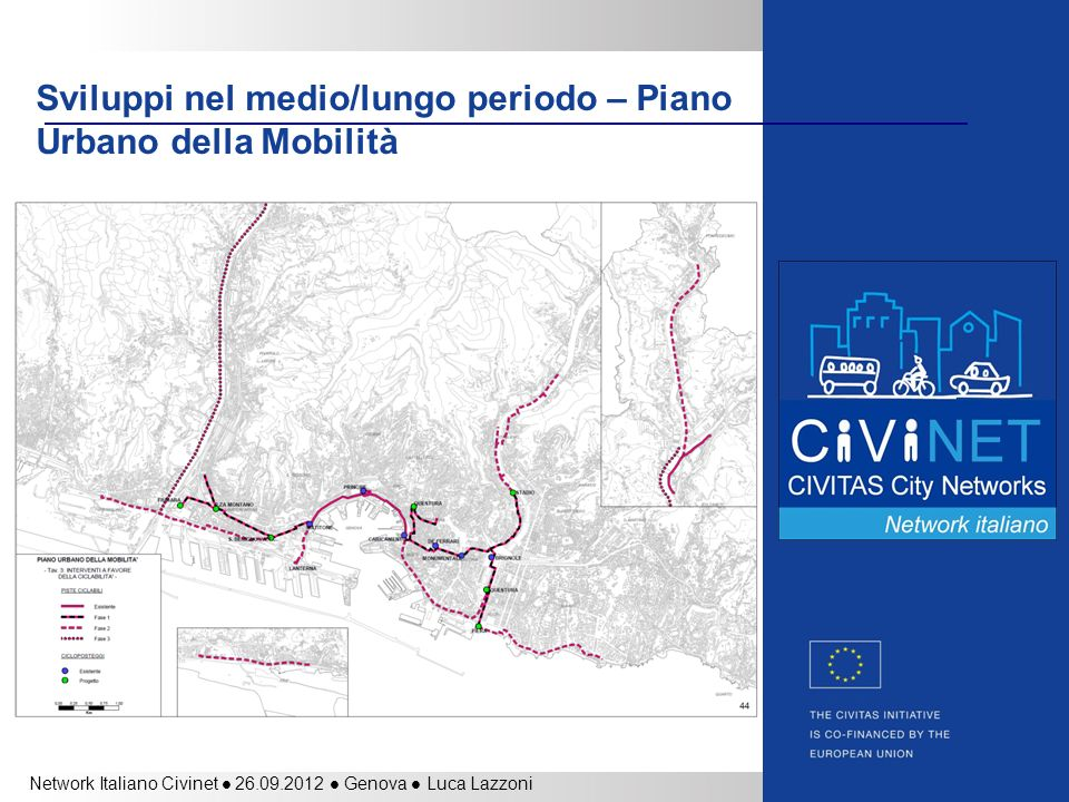 Sviluppi nel medio/lungo periodo – Piano Urbano della Mobilità