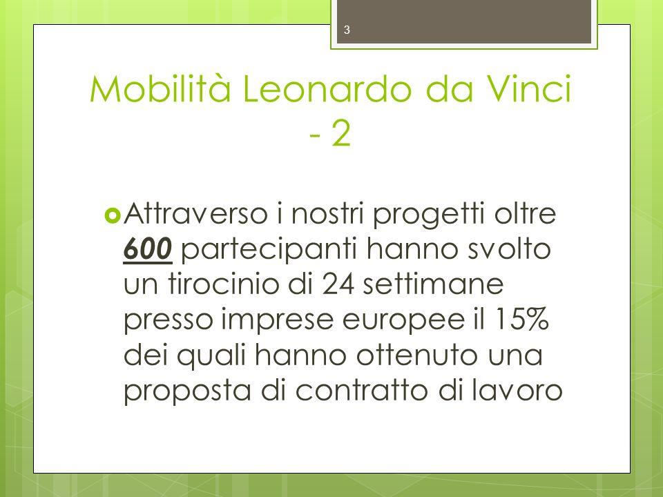 Mobilità Leonardo da Vinci - 2