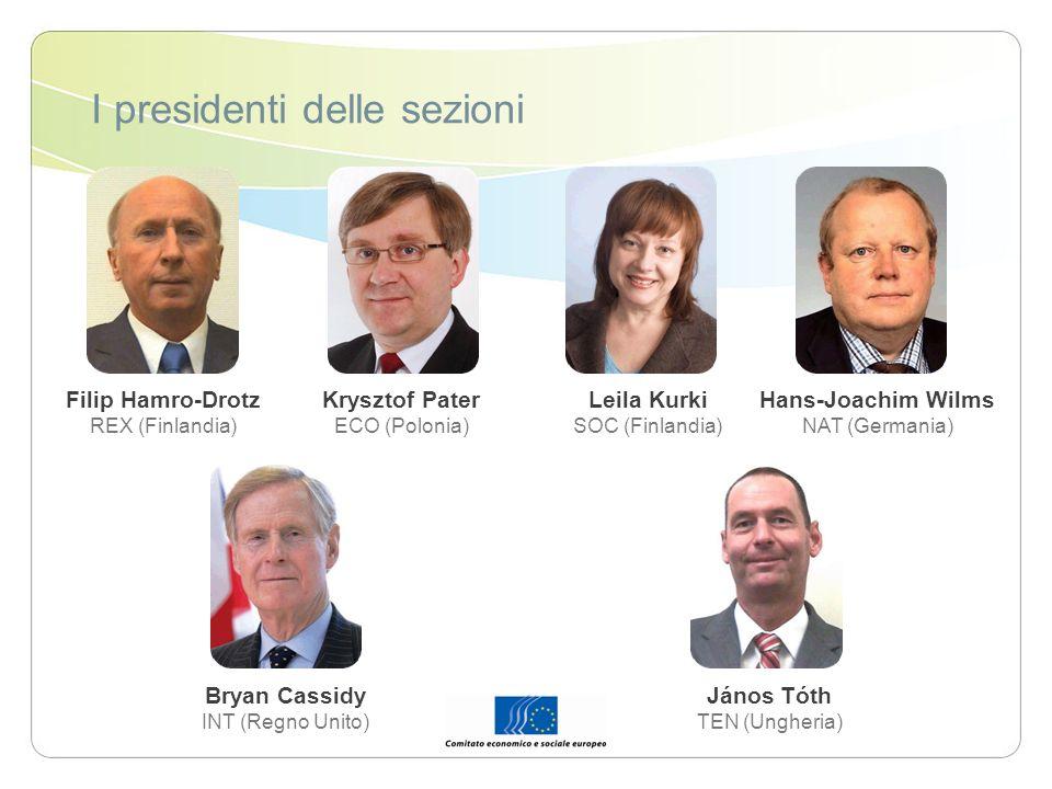 I presidenti delle sezioni