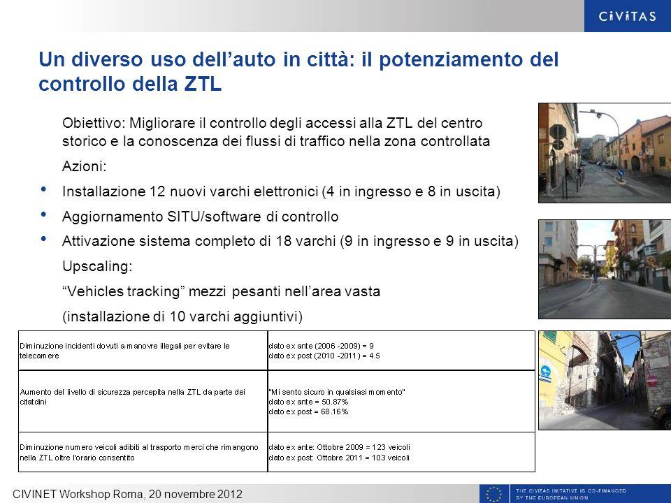 Un diverso uso dell'auto in città: il potenziamento del controllo della ZTL