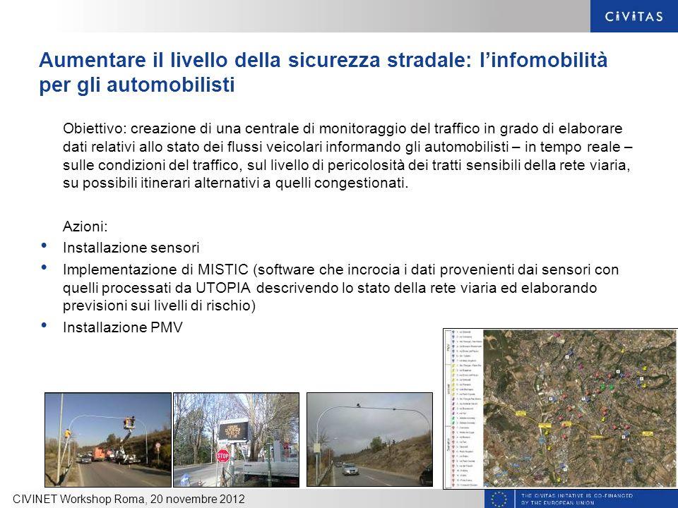 Aumentare il livello della sicurezza stradale: l'infomobilità per gli automobilisti