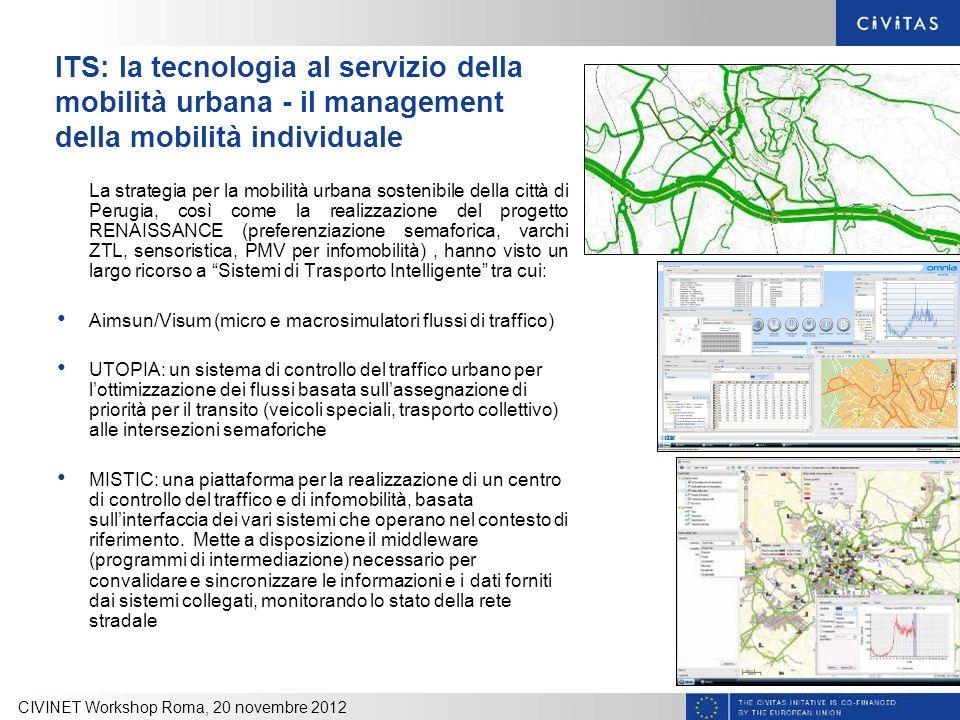 ITS: la tecnologia al servizio della mobilità urbana - il management della mobilità individuale