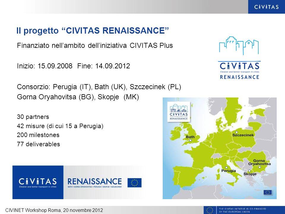 Il progetto CIVITAS RENAISSANCE