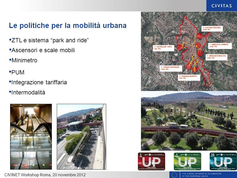 Le politiche per la mobilità urbana