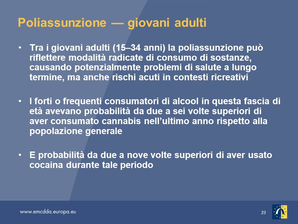 Poliassunzione — giovani adulti