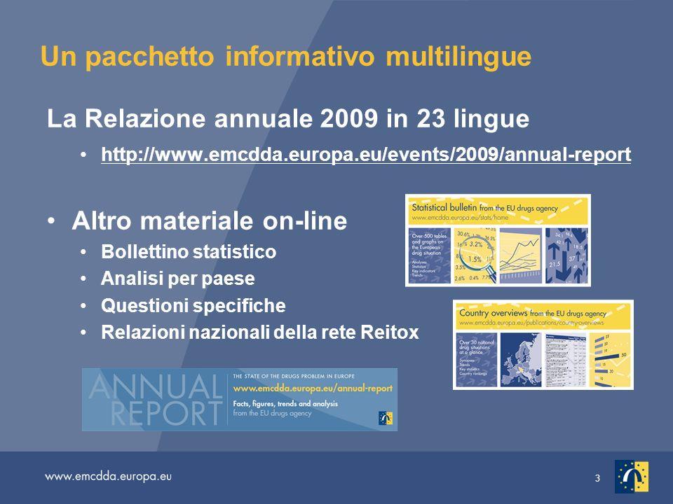 Un pacchetto informativo multilingue