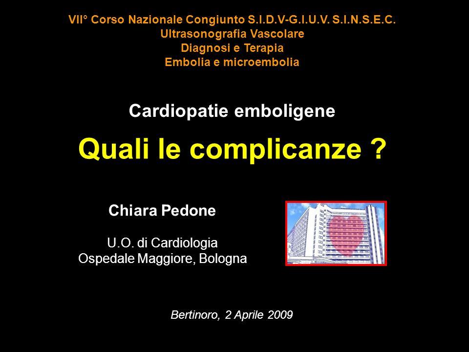 Cardiopatie emboligene