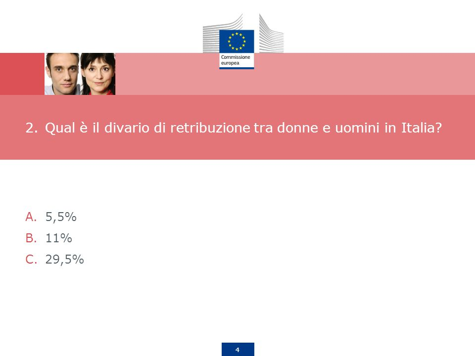 Qual è il divario di retribuzione tra donne e uomini in Italia