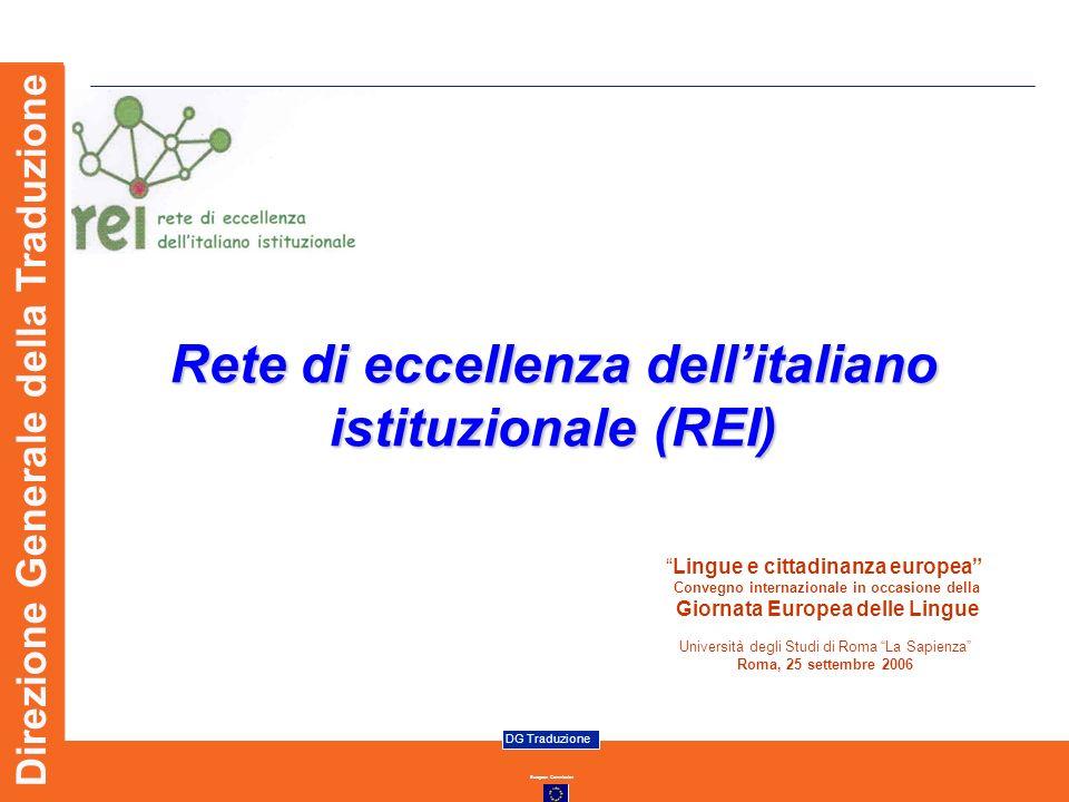 Rete di eccellenza dell'italiano istituzionale (REI)