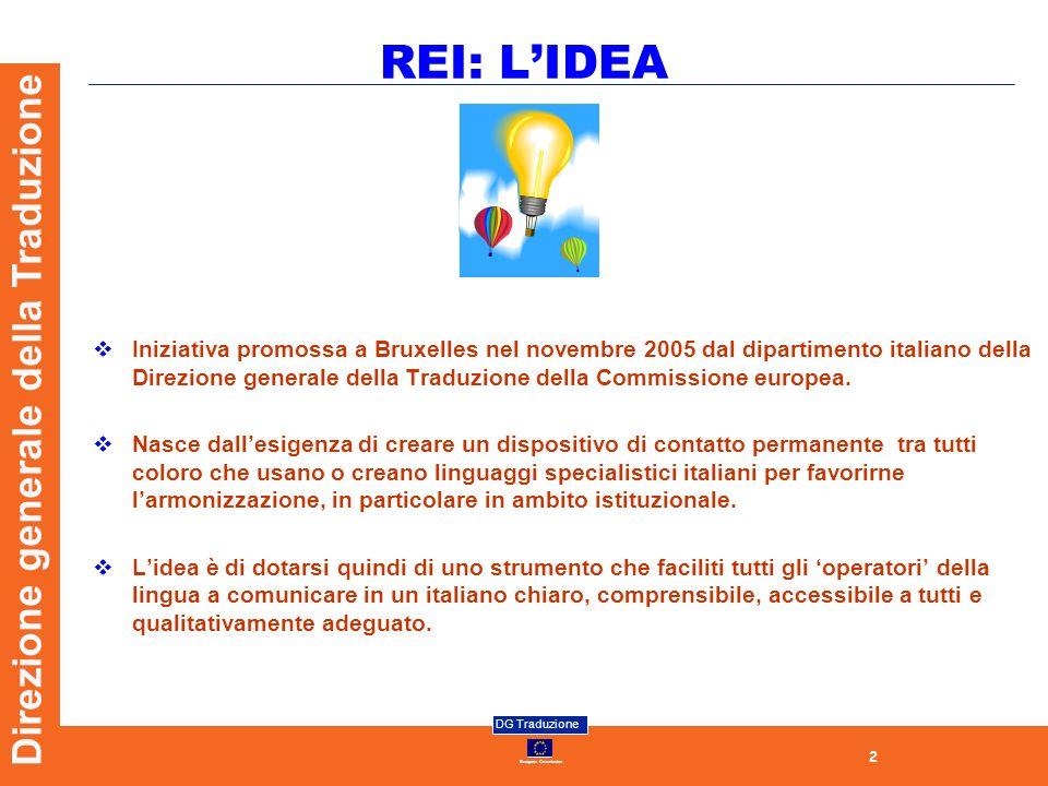 REI: L'IDEA