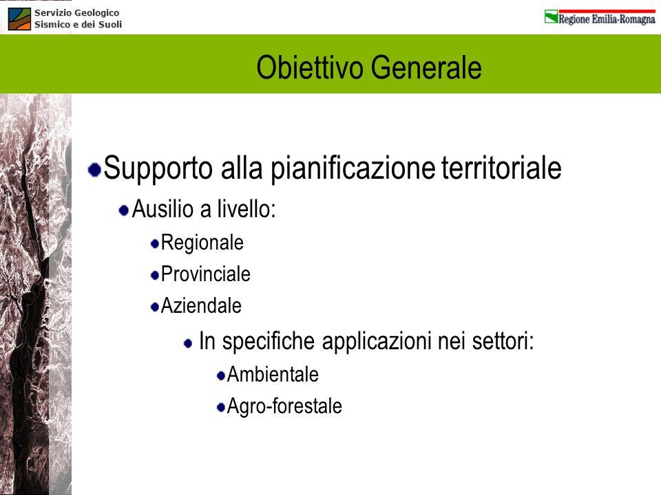 Supporto alla pianificazione territoriale