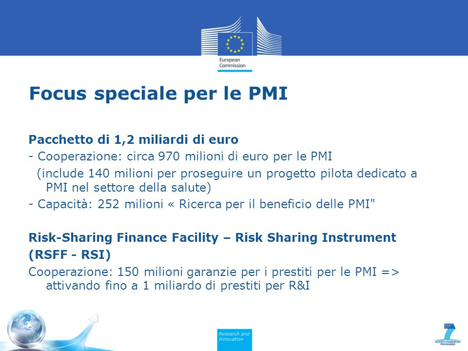 Focus speciale per le PMI