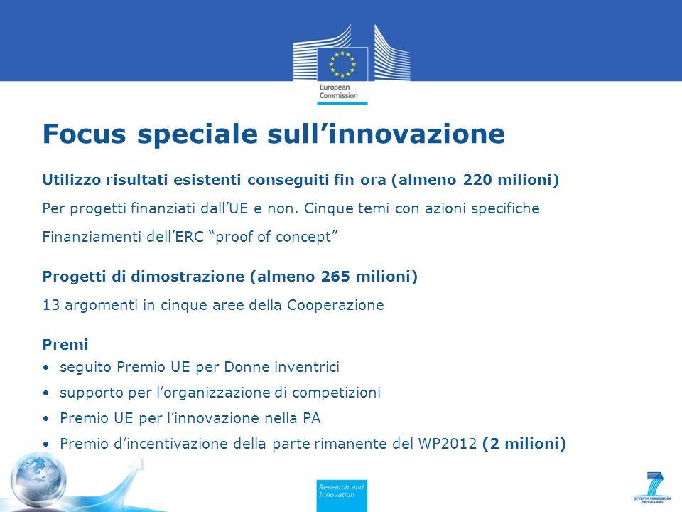 Focus speciale sull'innovazione