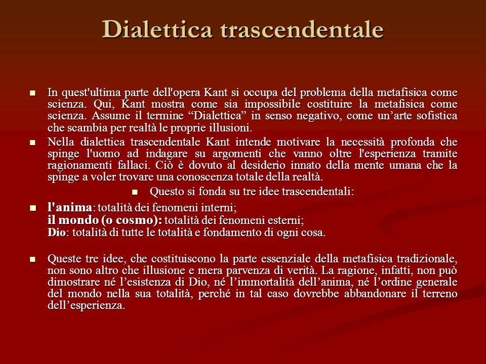 Dialettica trascendentale