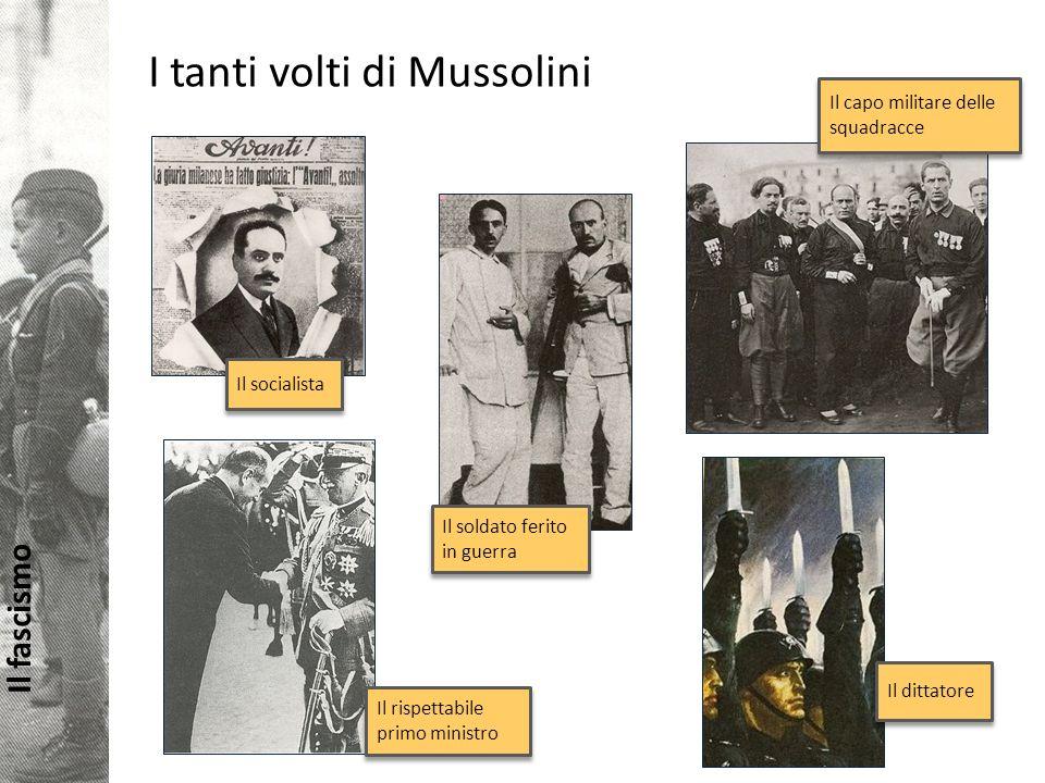 I tanti volti di Mussolini