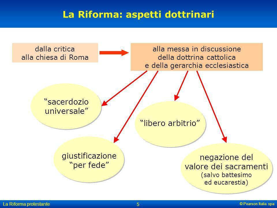 La Riforma: aspetti dottrinari