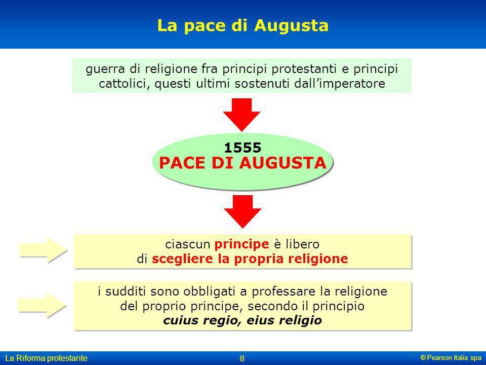 ciascun principe è libero di scegliere la propria religione