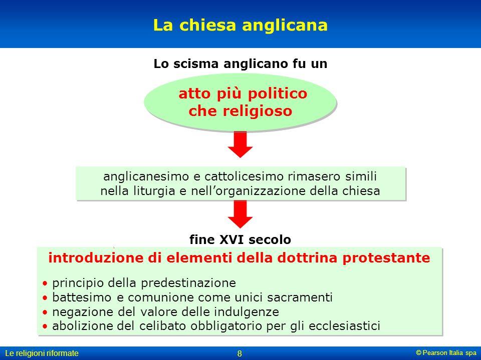 La chiesa anglicana atto più politico che religioso