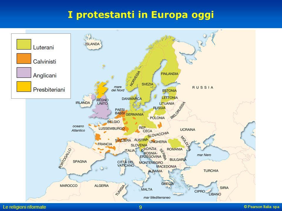 I protestanti in Europa oggi
