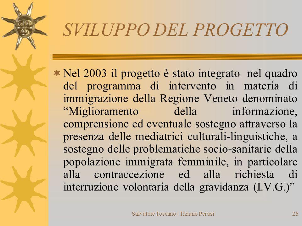 Salvatore Toscano - Tiziano Perusi