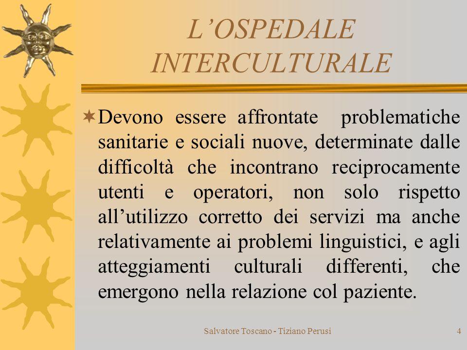 L'OSPEDALE INTERCULTURALE