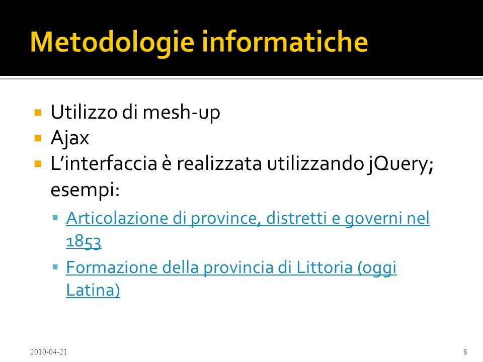 Metodologie informatiche
