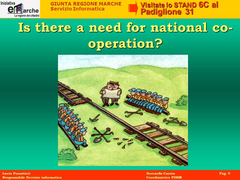 Is there a need for national co-operation