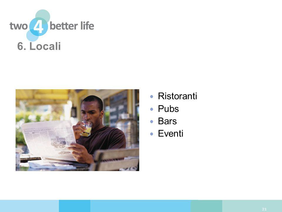 6. Locali Ristoranti Pubs Bars Eventi 21