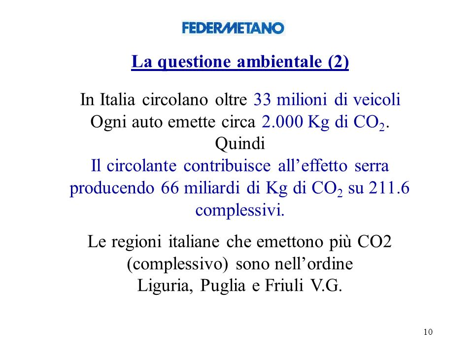 La questione ambientale (2)
