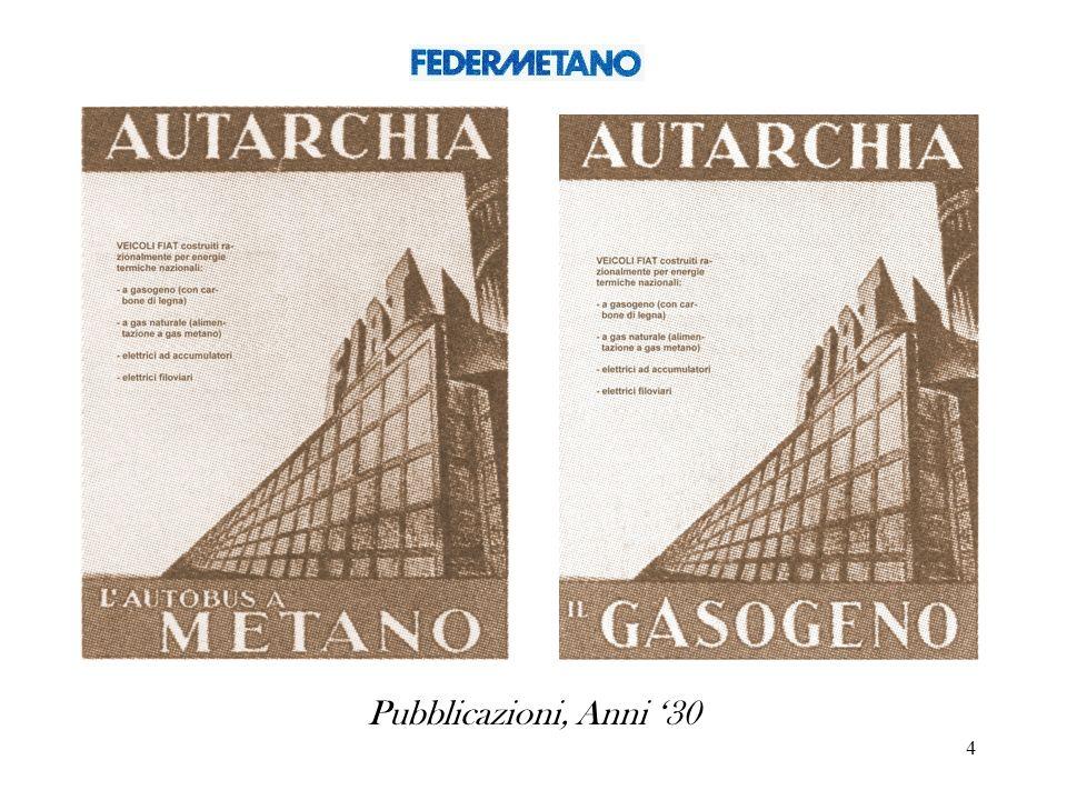 Pubblicazioni, Anni '30
