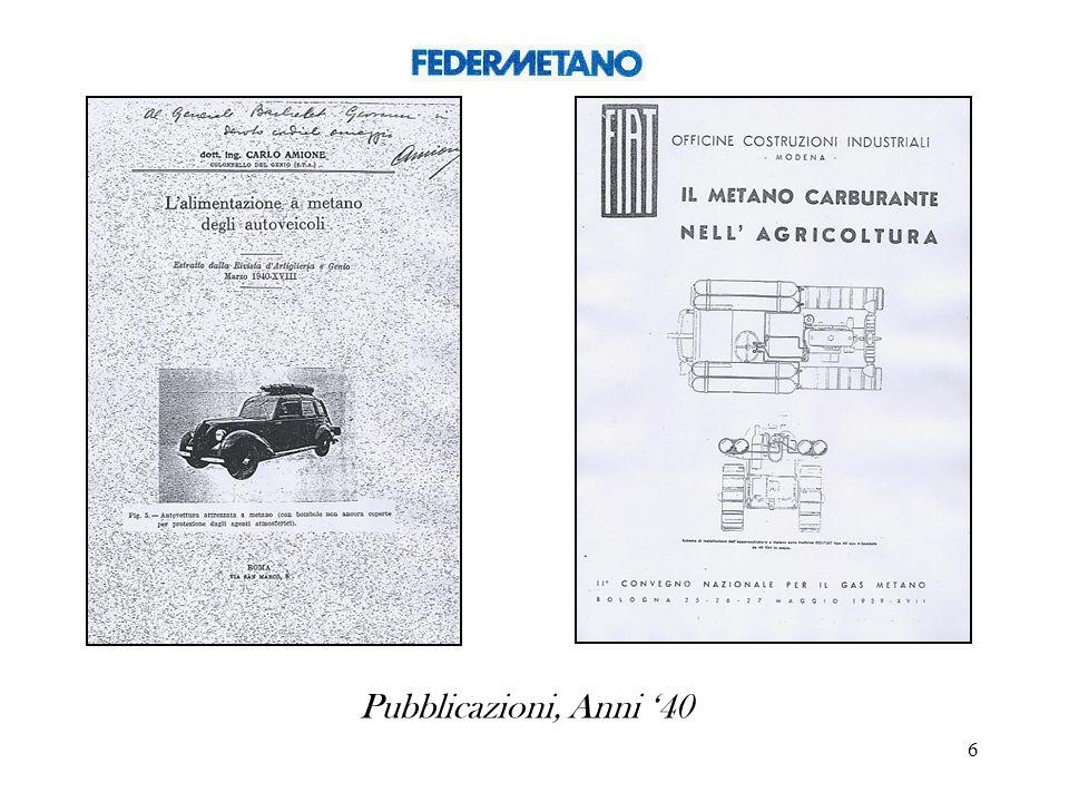 Pubblicazioni, Anni '40