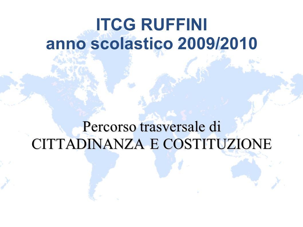 ITCG RUFFINI anno scolastico 2009/2010