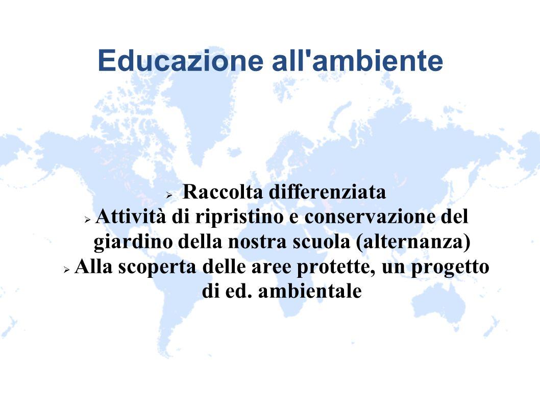 Educazione all ambiente