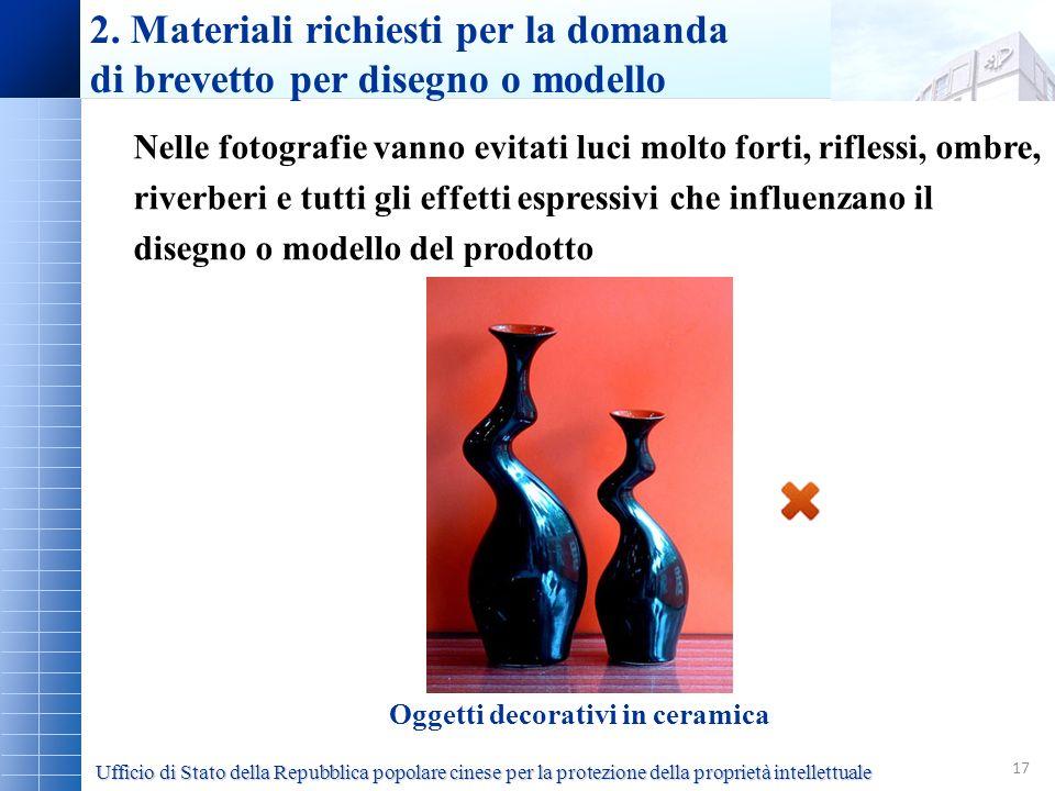Oggetti decorativi in ceramica
