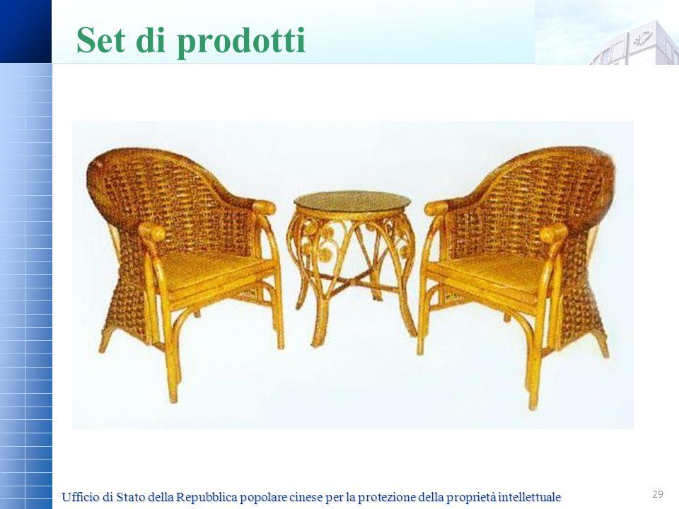 Set di prodottiSet di tavolo e sedie, tavolo 0603, sedia 0601.