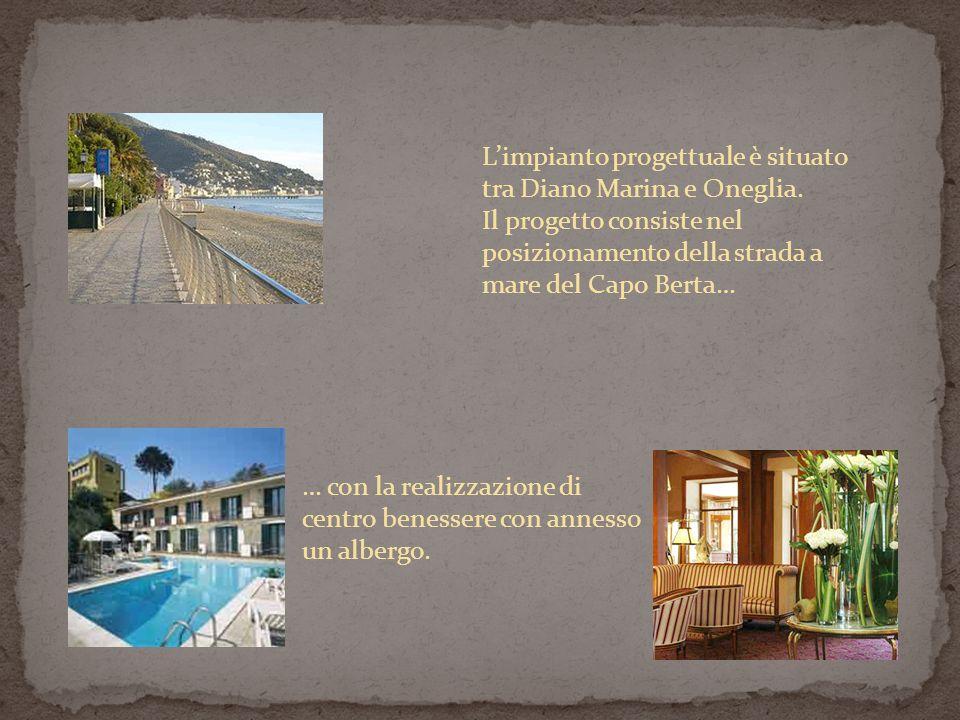 L'impianto progettuale è situato tra Diano Marina e Oneglia.