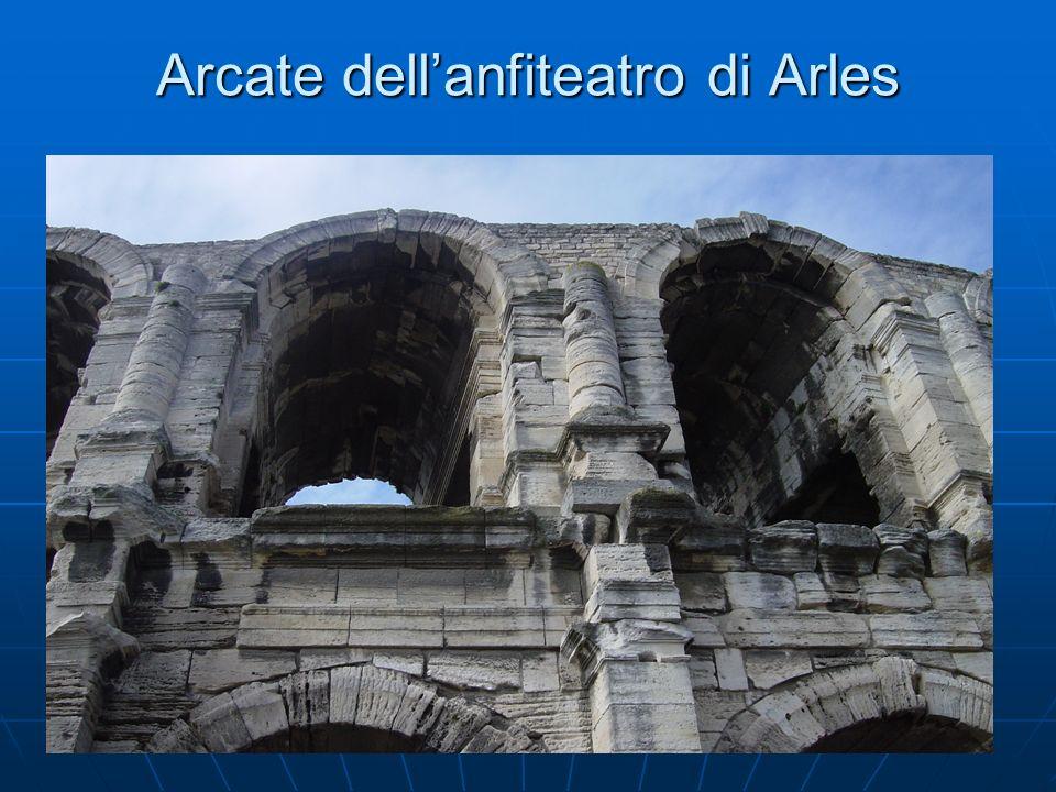 Arcate dell'anfiteatro di Arles