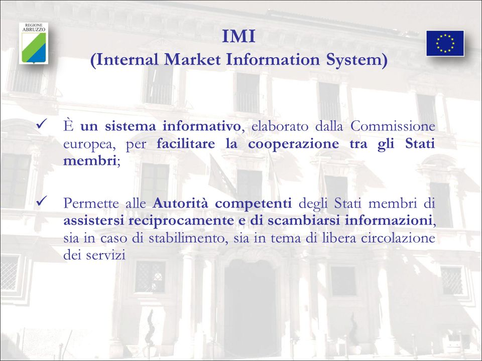 IMI (Internal Market Information System)