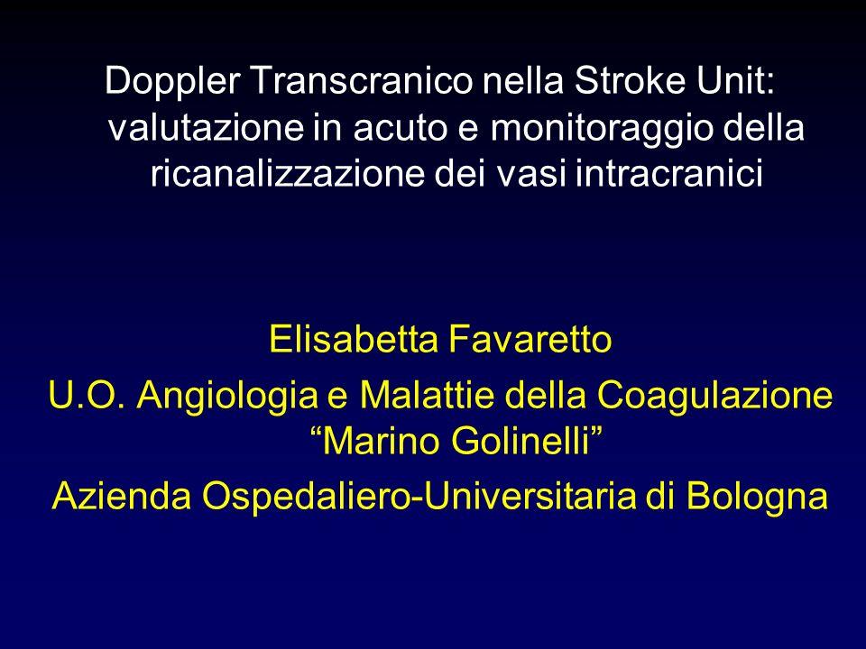 U.O. Angiologia e Malattie della Coagulazione Marino Golinelli