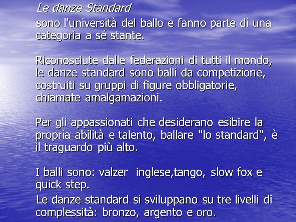 Le danze Standard