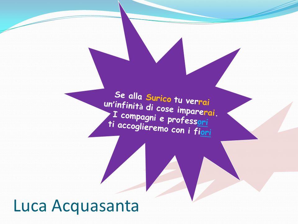 Luca Acquasanta Se alla Surico tu verrai