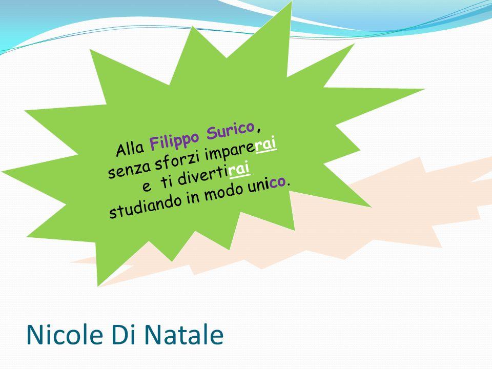 Nicole Di Natale Alla Filippo Surico, senza sforzi imparerai
