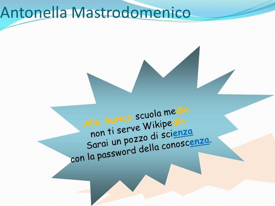 Antonella Mastrodomenico