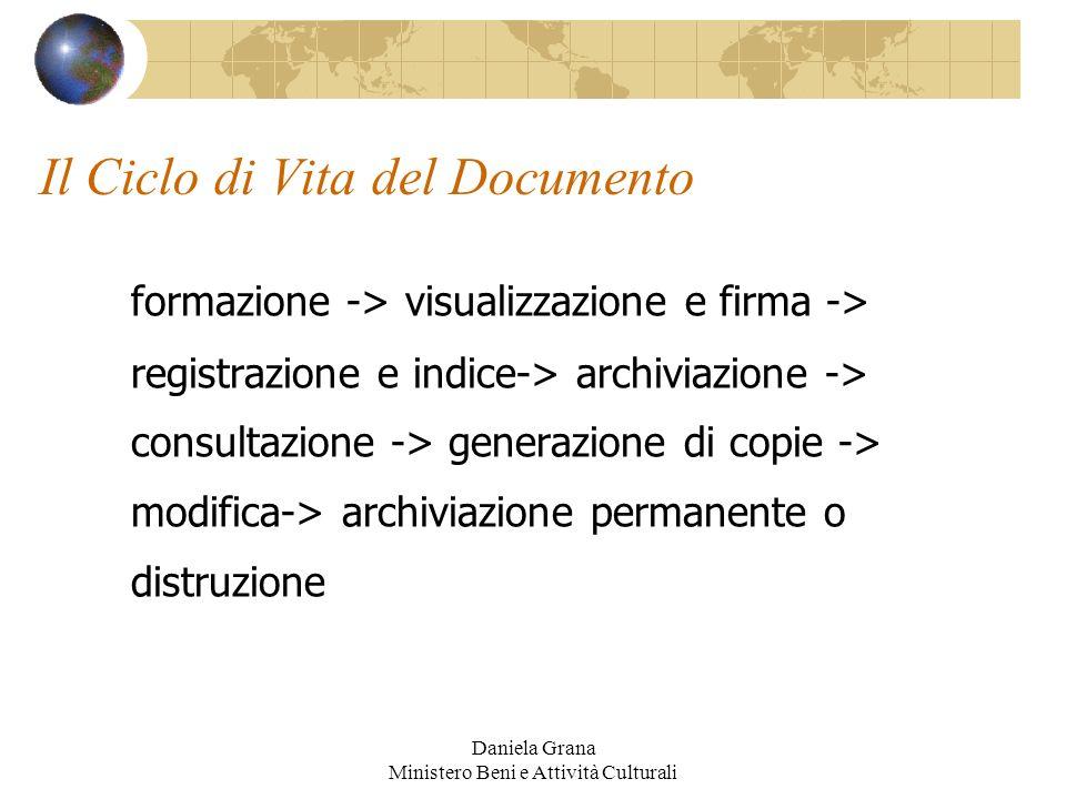 Il Ciclo di Vita del Documento