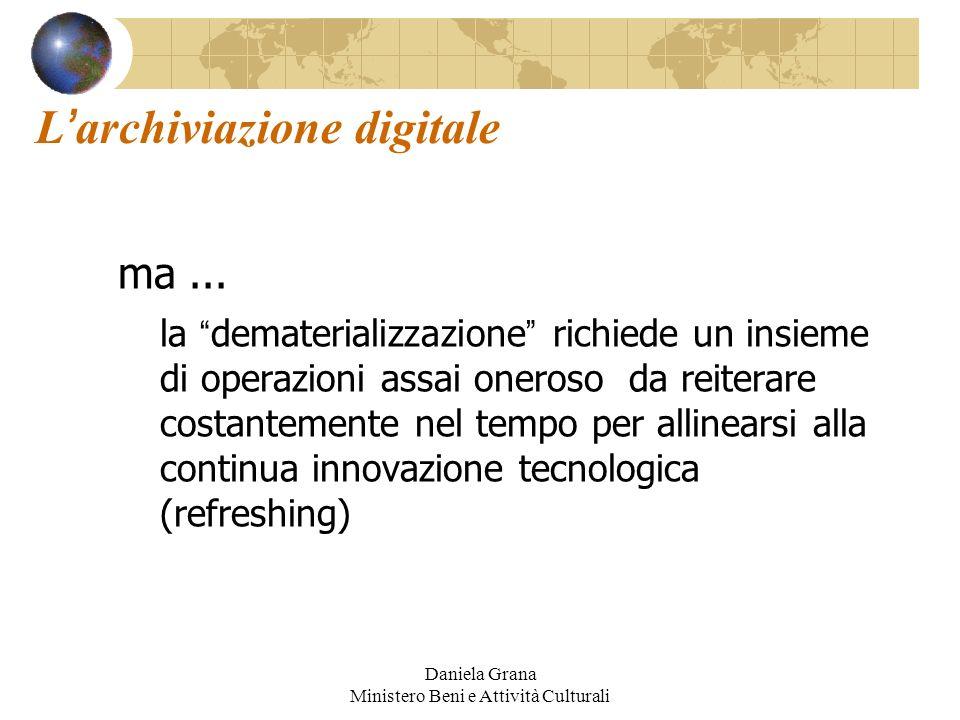 L'archiviazione digitale